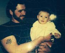 Kendra and her adoptive dad, Ken
