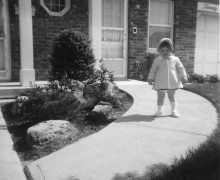 Adoptee Joanne Currao as a child