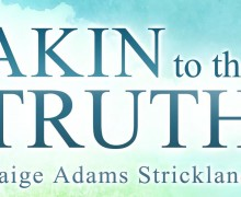 Author, Paige Strickland, discusses her adoption memoir.