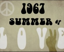 vintage summer of love sign